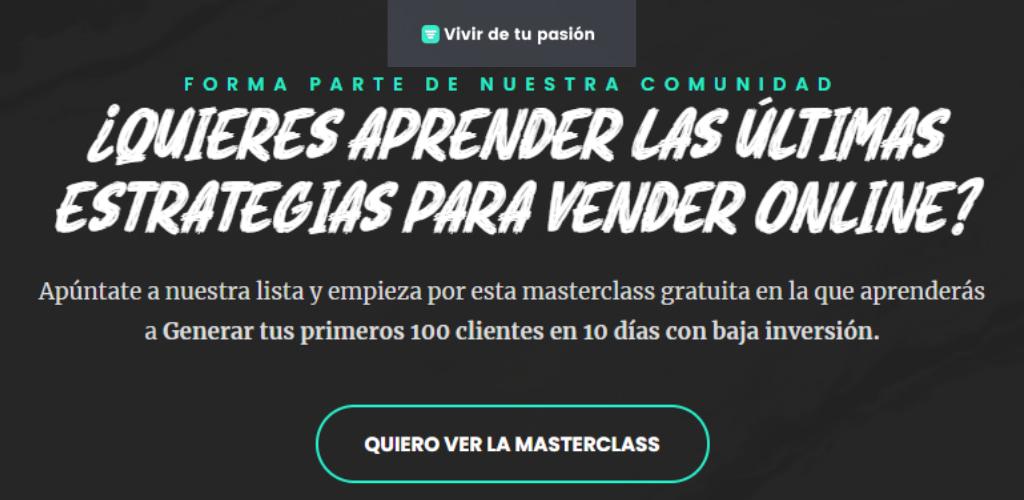 Embudo de leads de Alejandro Novás